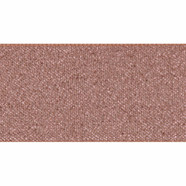 Berisfords Metallic Ribbon - Lame - 15mm Wide - Dark Rose Gold