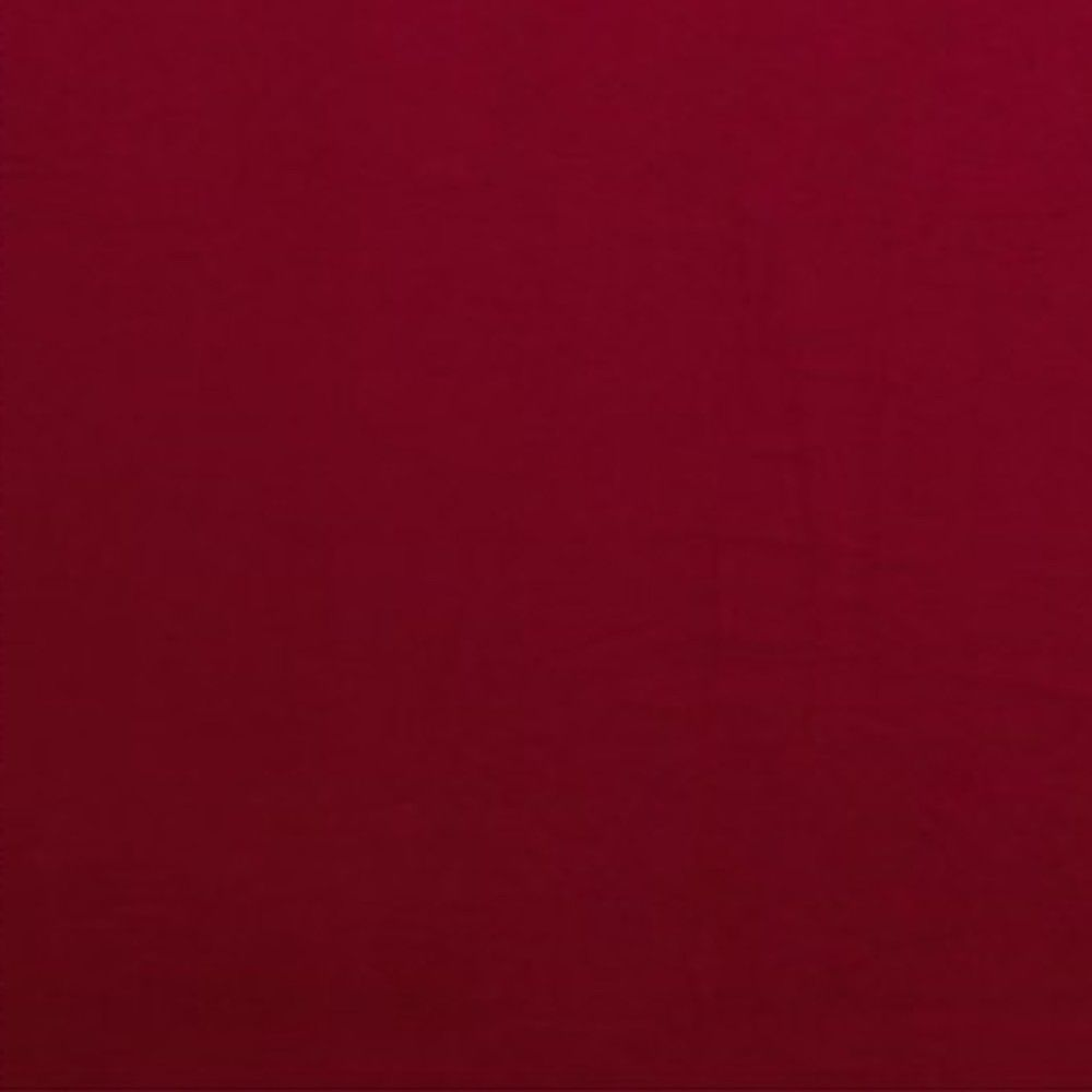 Solid Colour Bamboo Jersey Fabric - Rich Red