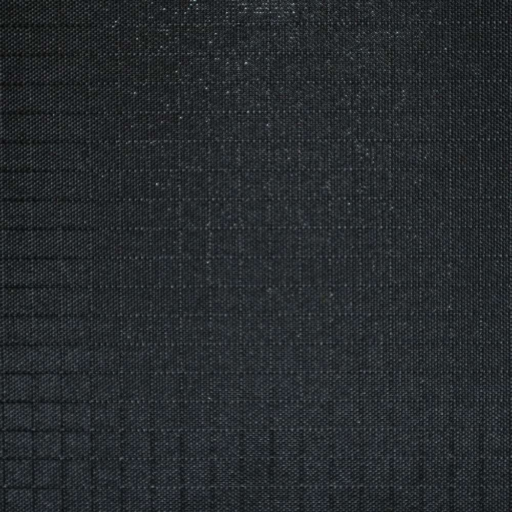 Waterproof Nylon Ripstop Fabric - Solid Black