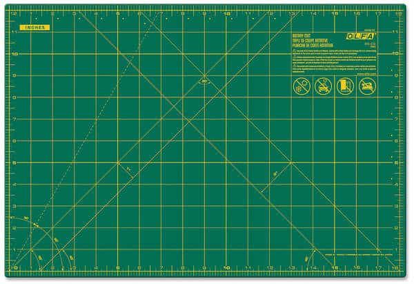 Olfa Self Healing Cutting Mat 12