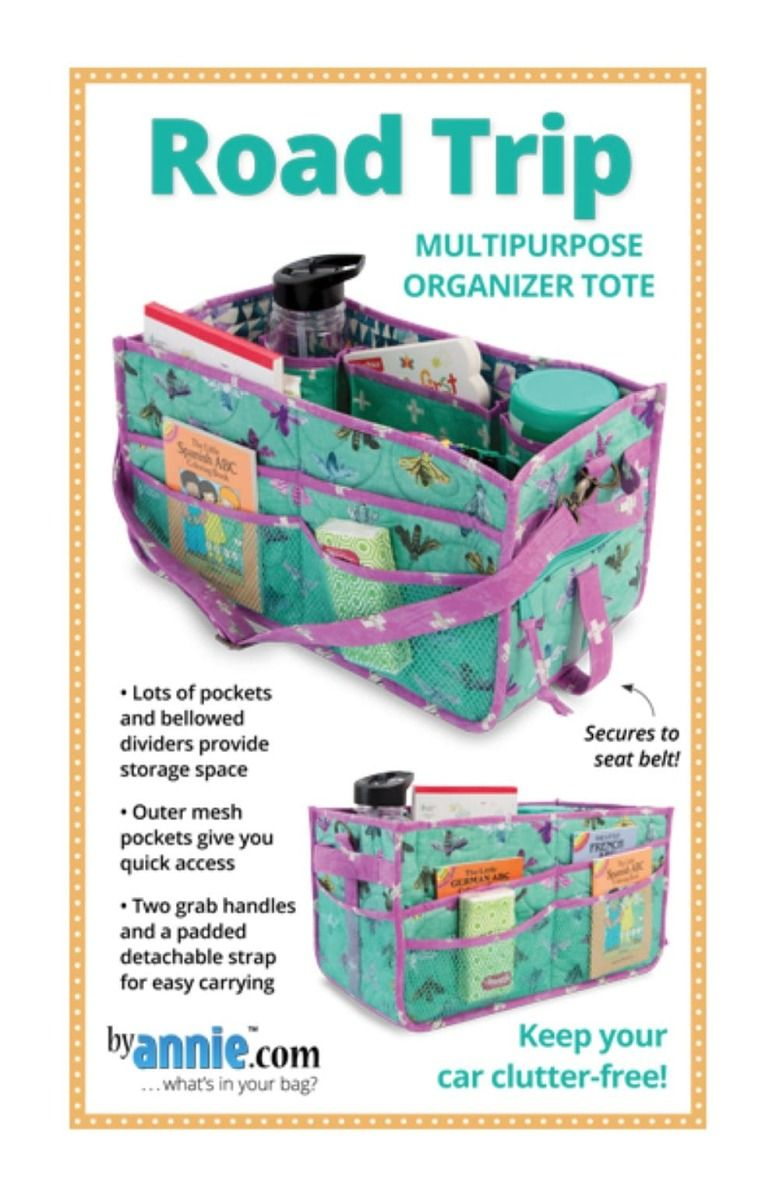 ByAnnie Sewing Pattern -   Round Trip Duffle Bag Pattern