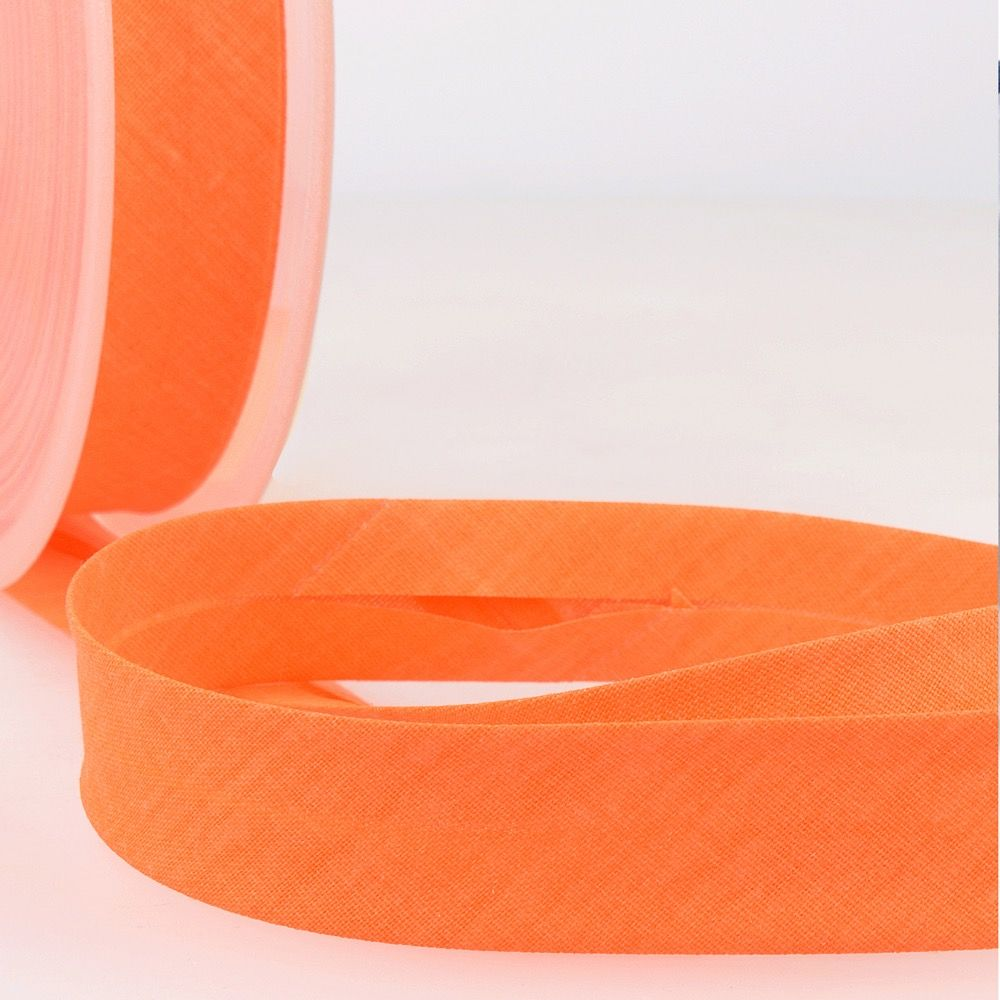 Stephanoise Fluorescent Bias Binding - 20mm Wide - Neon Orange