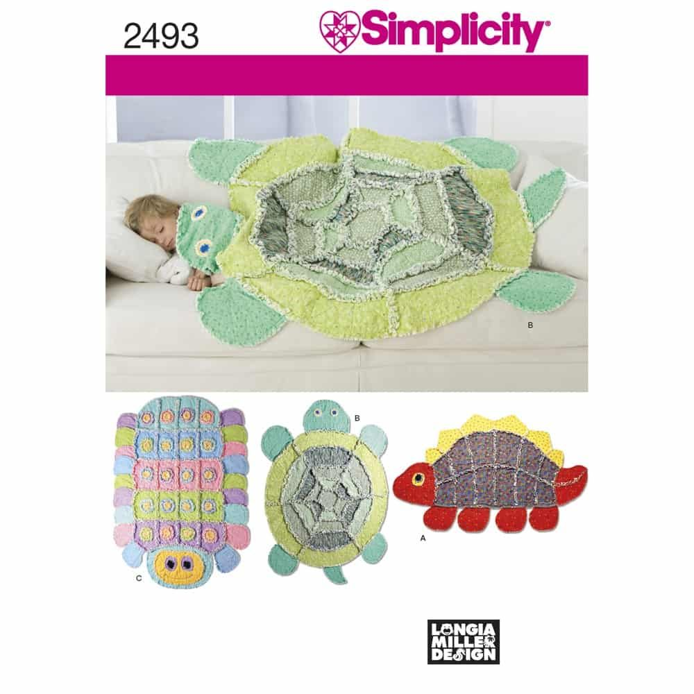 Simplicity Sewing Pattern 2493 Crafts