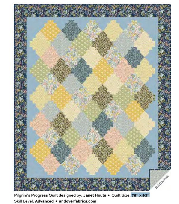 Andover - Mayflower - Quilt Pattern - Free Instant Download