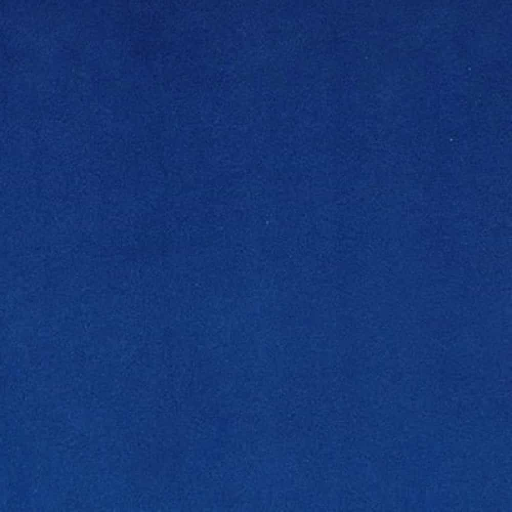 Remnant -Shannon Fabrics - Smooth Cuddle 3 Plush Fabric - Electric Blue - 95 x 150cm - Bolt End