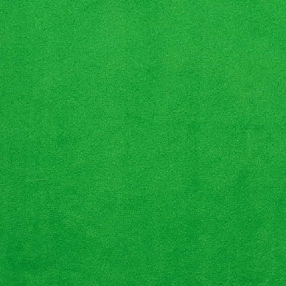 Remnant -Shannon Smooth Plush Fabric - Kelly Green - 62 x 150cm - Bolt End