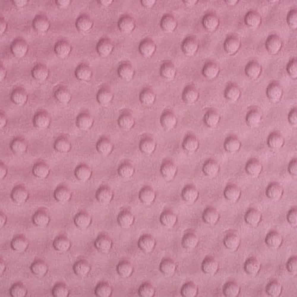 Shannon Fabrics - Cuddle Dimple Plush Fabric - Dusty Rose - 100cm x 75cm