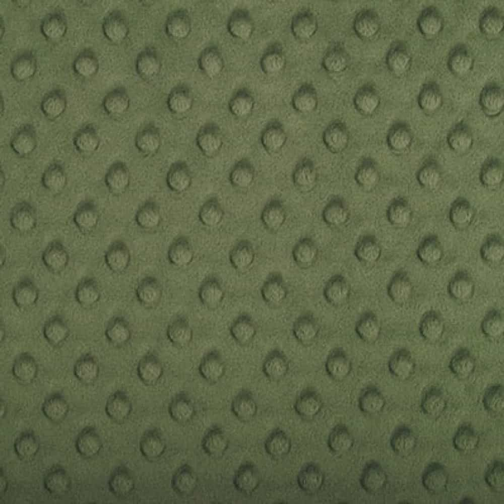 Remnant - Shannon Fabrics - Cuddle Dimple Plush Fabric - Hunter Green - 76 x 150cm - Bolt End