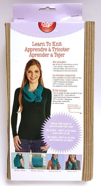 Remnant - Learn To Knit Project Pack - Discontinued Line