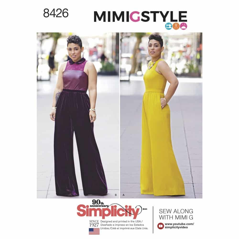 Simplicity Sewing Pattern 8426  Misses' & Plus Size Jumpsuit by Mimi G