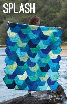 Jaybird Quilt Patterns - Splash Quilt Pattern