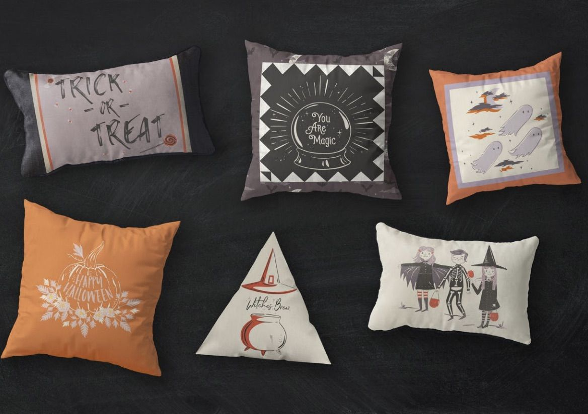 Art Gallery Fabrics  - Spooky N Sweet - Spell On You Cushions - Free Download