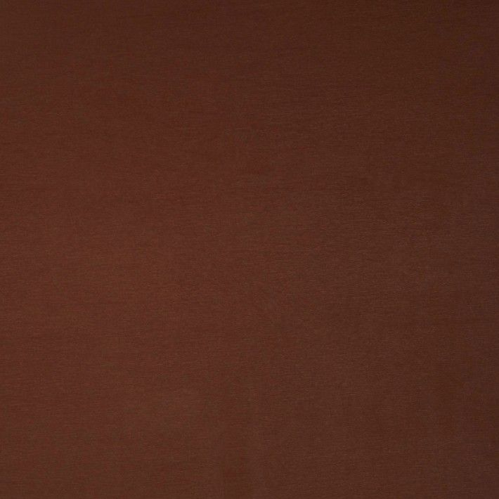 Stretch Leather Look Cotton Blend - Brown