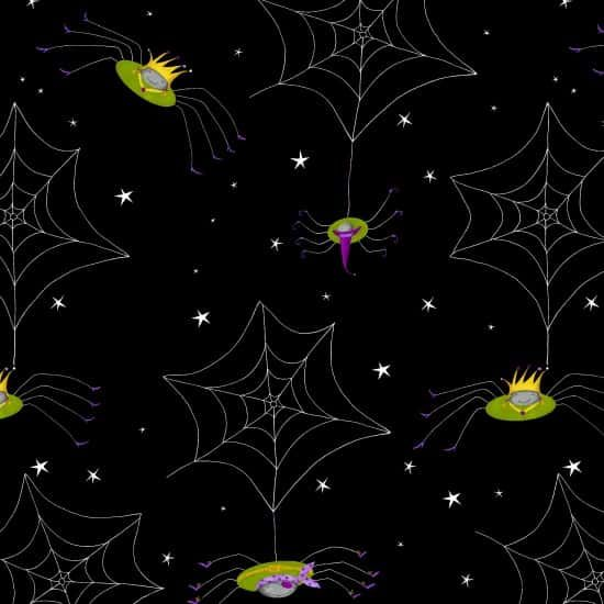 Studio E - Me And My Ghoul Friends - Spider Webs Black