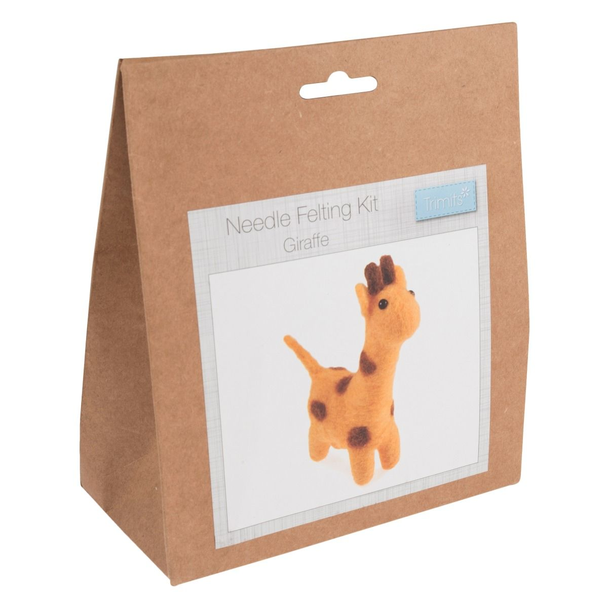Trimits Needle Felting Kit: Giraffe