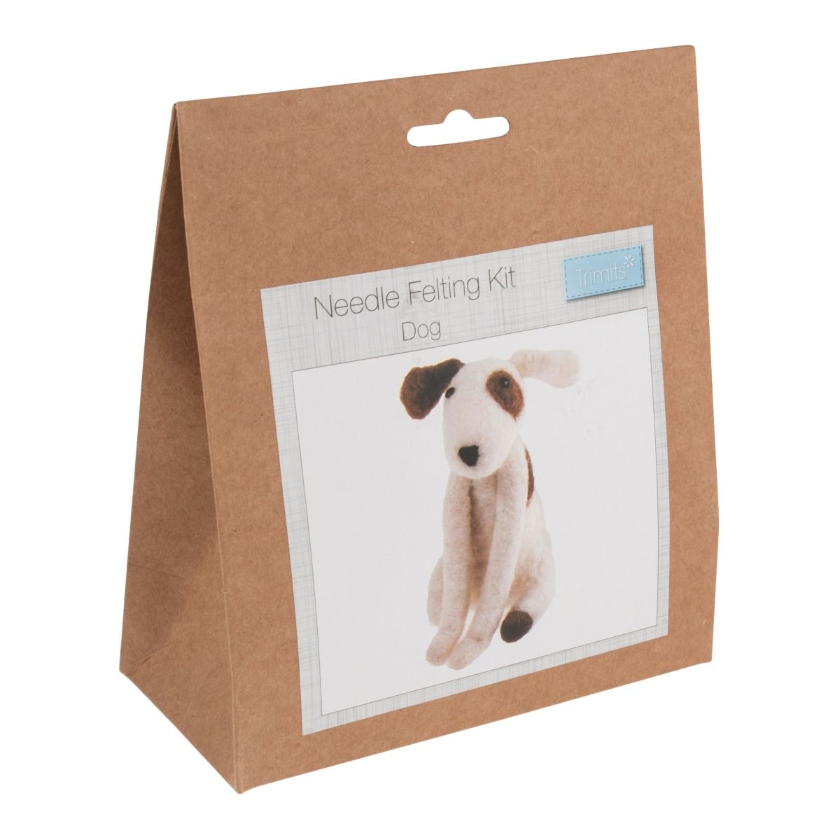 Trimits Needle Felting Kit: Dog