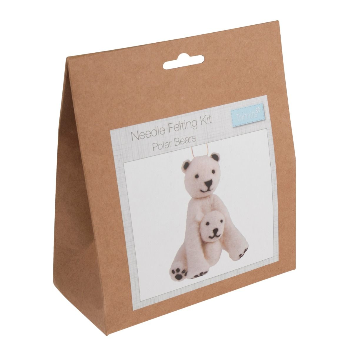 Trimits Needle Felting Kit: Polar Bear