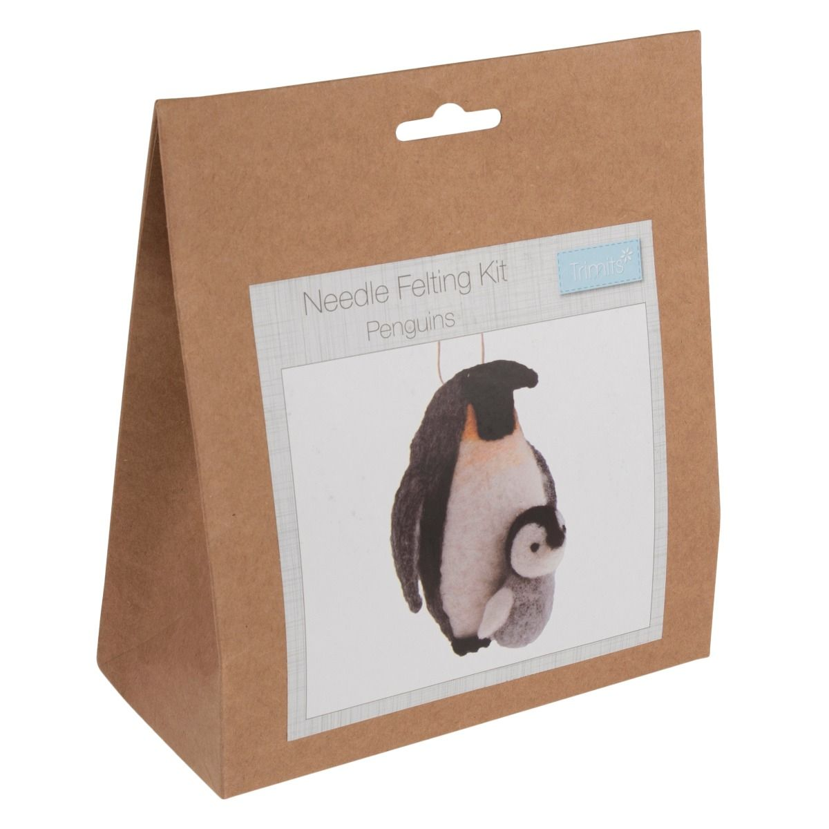 Trimits Needle Felting Kit: Penguins