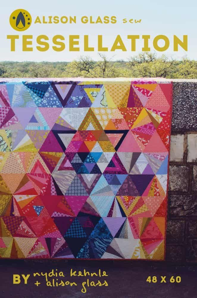 Alison Glass Quilt Patterns -  Tessellation Quilt Pattern