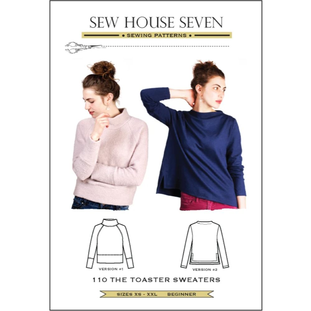 Sew House Seven -  Toaster Sweaters 1 & 2 Pattern