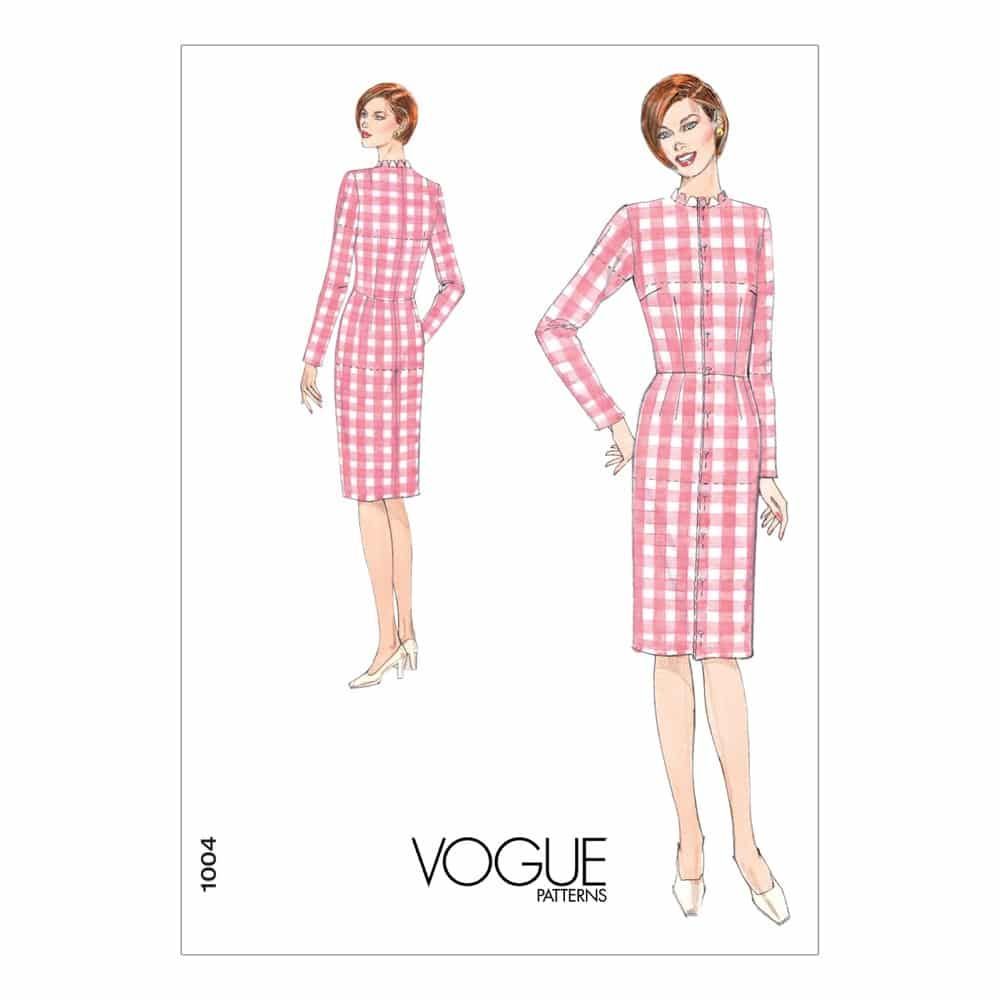 Vogue Sewing Pattern V1004 Misses' Fitting Shell