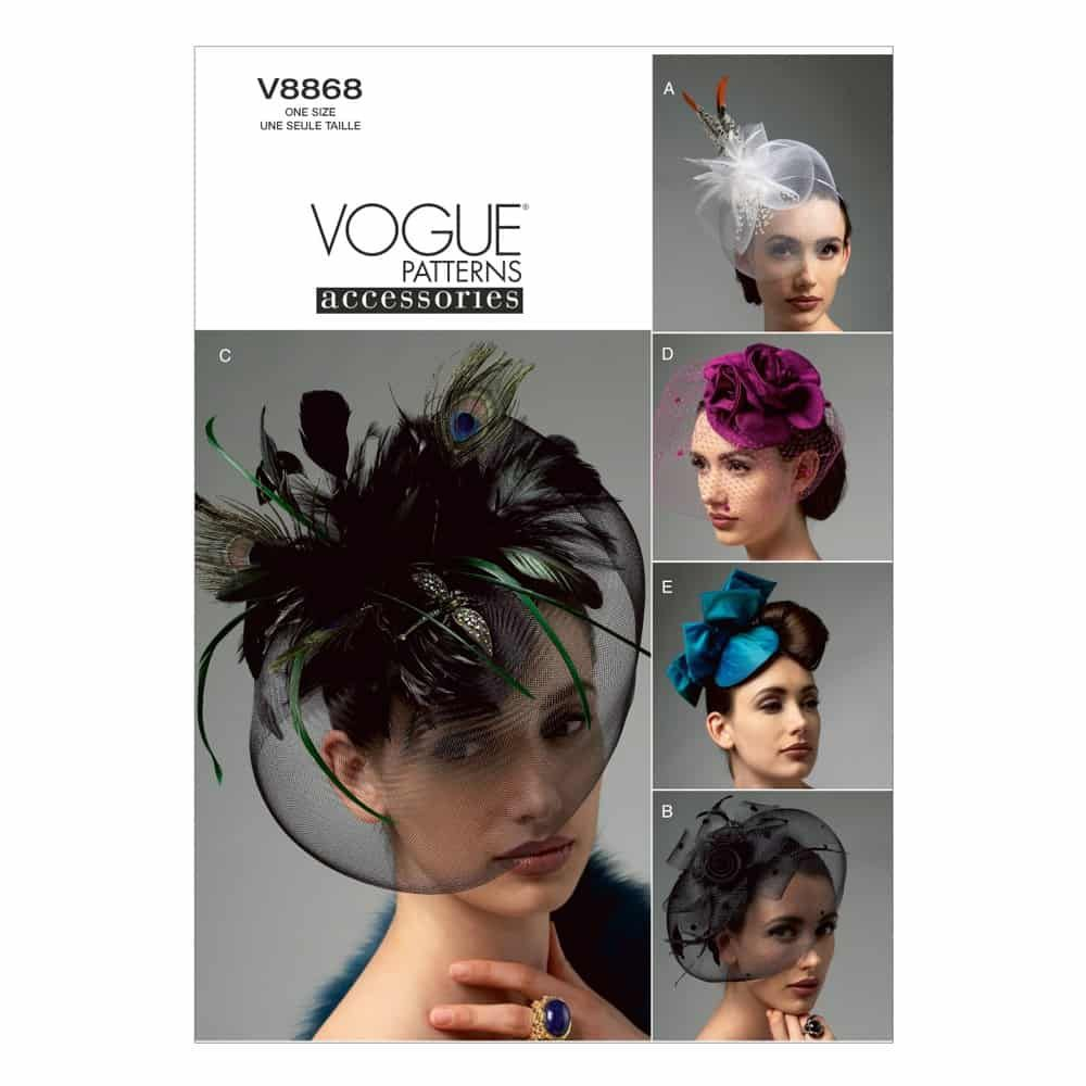 Vogue Sewing Pattern V8868 Hats