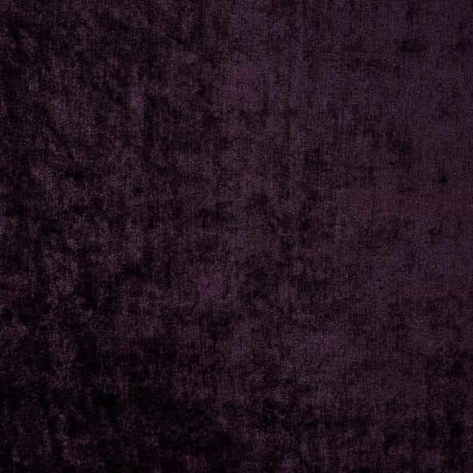 Velvet - Grape - Curtain / Upholstery Fabric