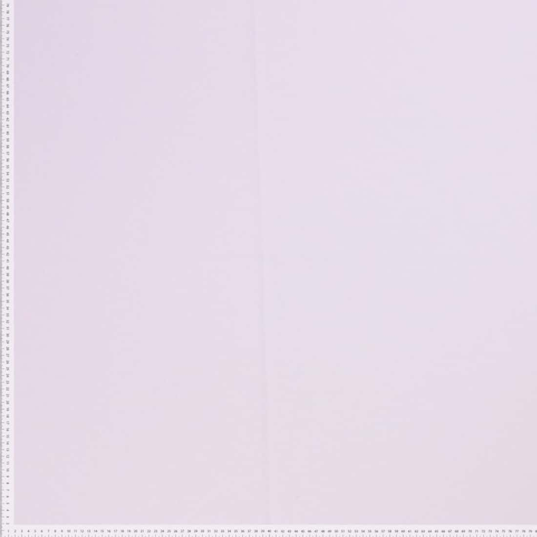 Remnant - Premium Ponte Roma Jersey - From Recycled Plastic Bottles - White - 1m x 160cm - Mark