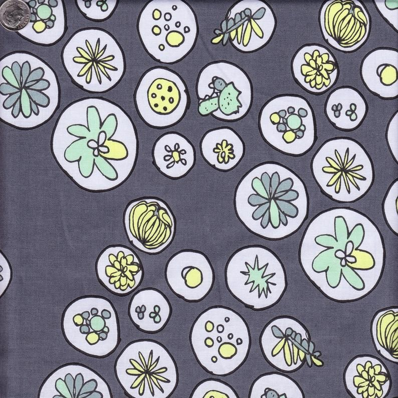 windham Fabrics - Succulents - Greenhouse Grey