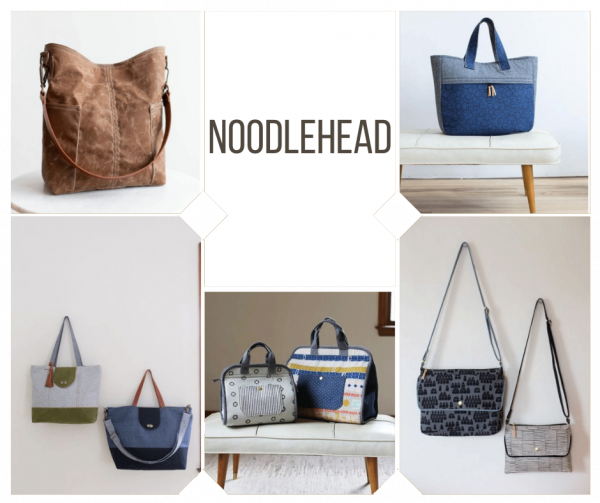 Noodlehead Bag Patterns Now In Stock