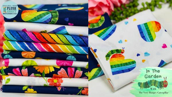 Hungry for new fabrics? Meet the Very Hungry Caterpillar… ?