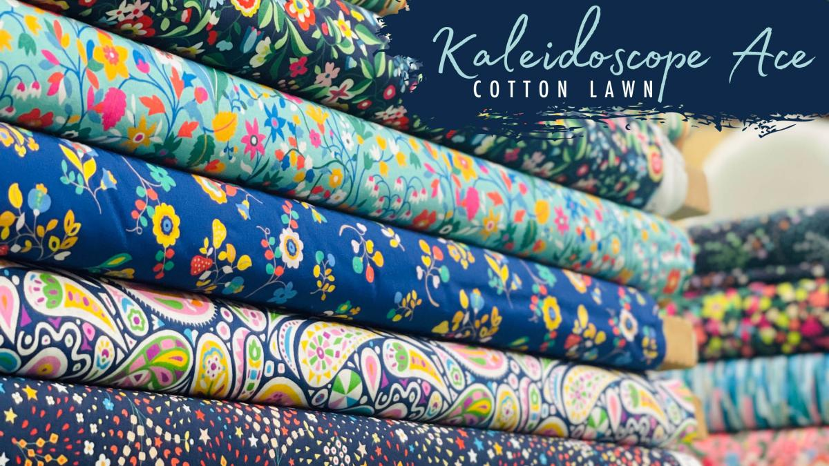 Beautiful NEW Cotton Lawns! Feast your eyes on a kaleidoscope of colour...