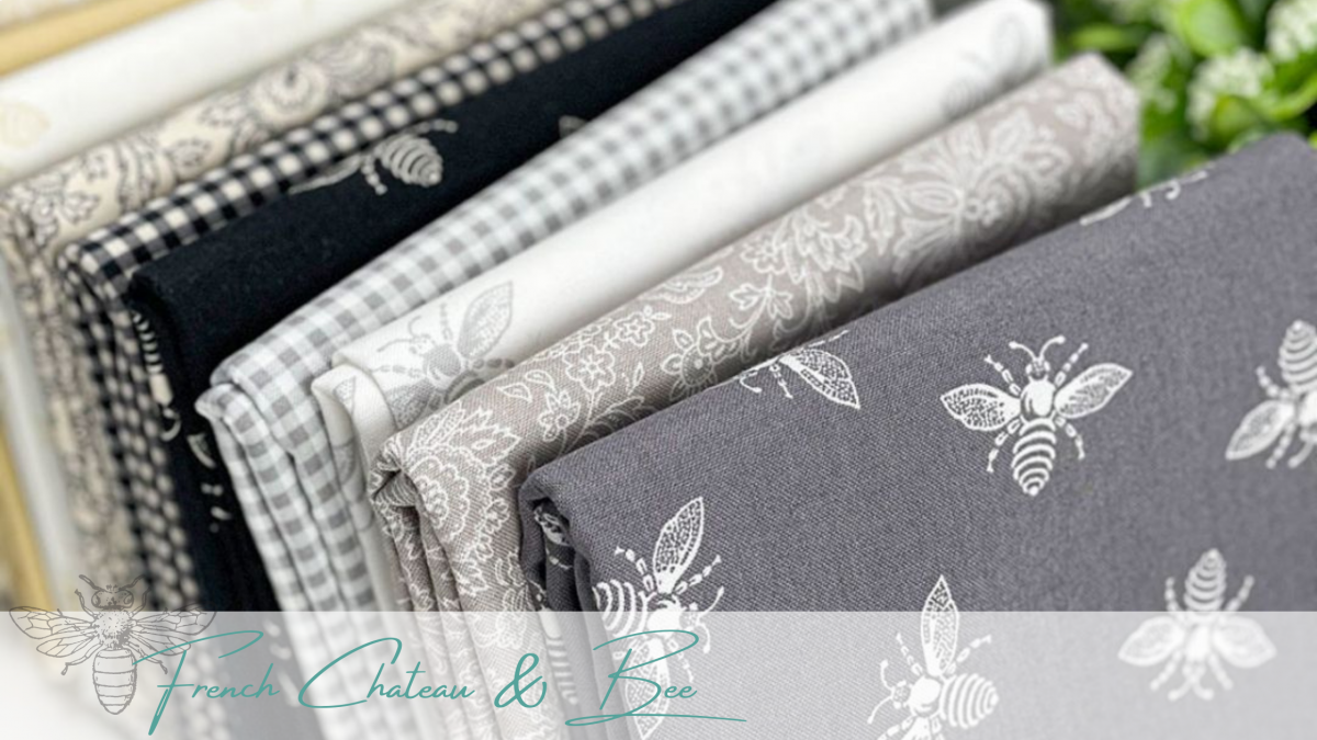 French Chateau & Bee by Renee Nanneman for Andover