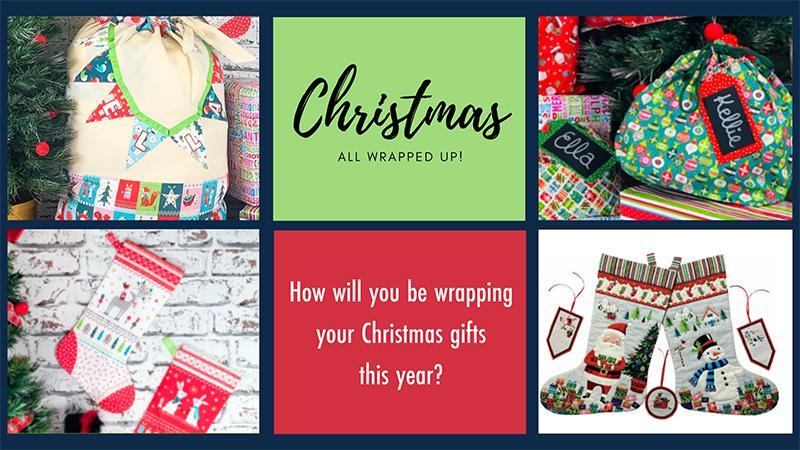How will you be wrapping your christmas gifts this year?