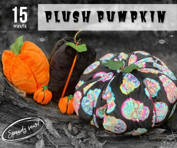 15 Minute Plush Pumpkin