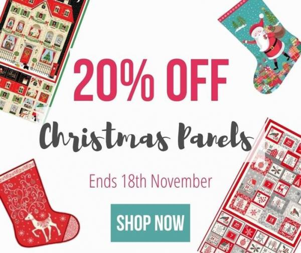 Save 20% On Christmas Panels