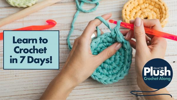 Would you love to learn how to Crochet in 7 days?!